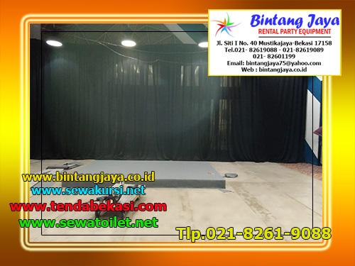Sewa Tirai Bludru Hitam Tlp.021-82601199