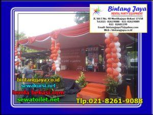 panggung dan tenda