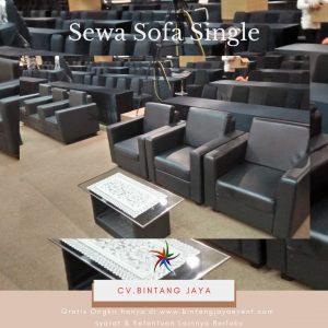 Sewa Sofa Single Hitam