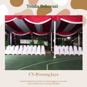Sewa Tenda Dekorasi New Normal covid-19
