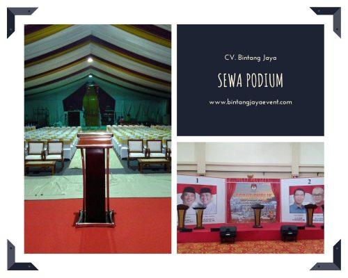 Sewa Podium Jakarta Barat Murah Berkualitas Pelayanan 24 Jam