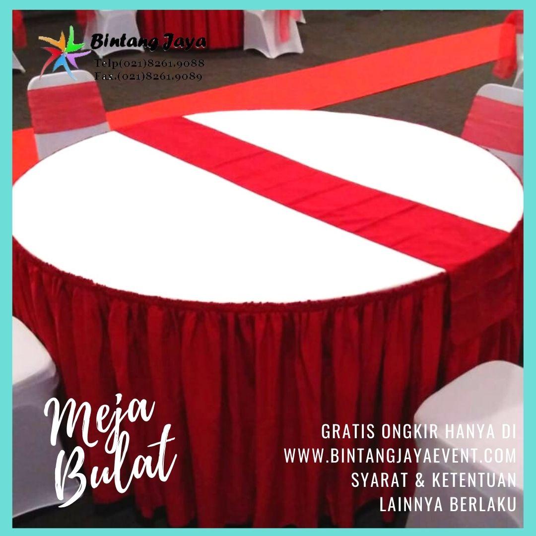 Sewa Meja Bulat Jatinegara Pusat sewa Jakarta Timur