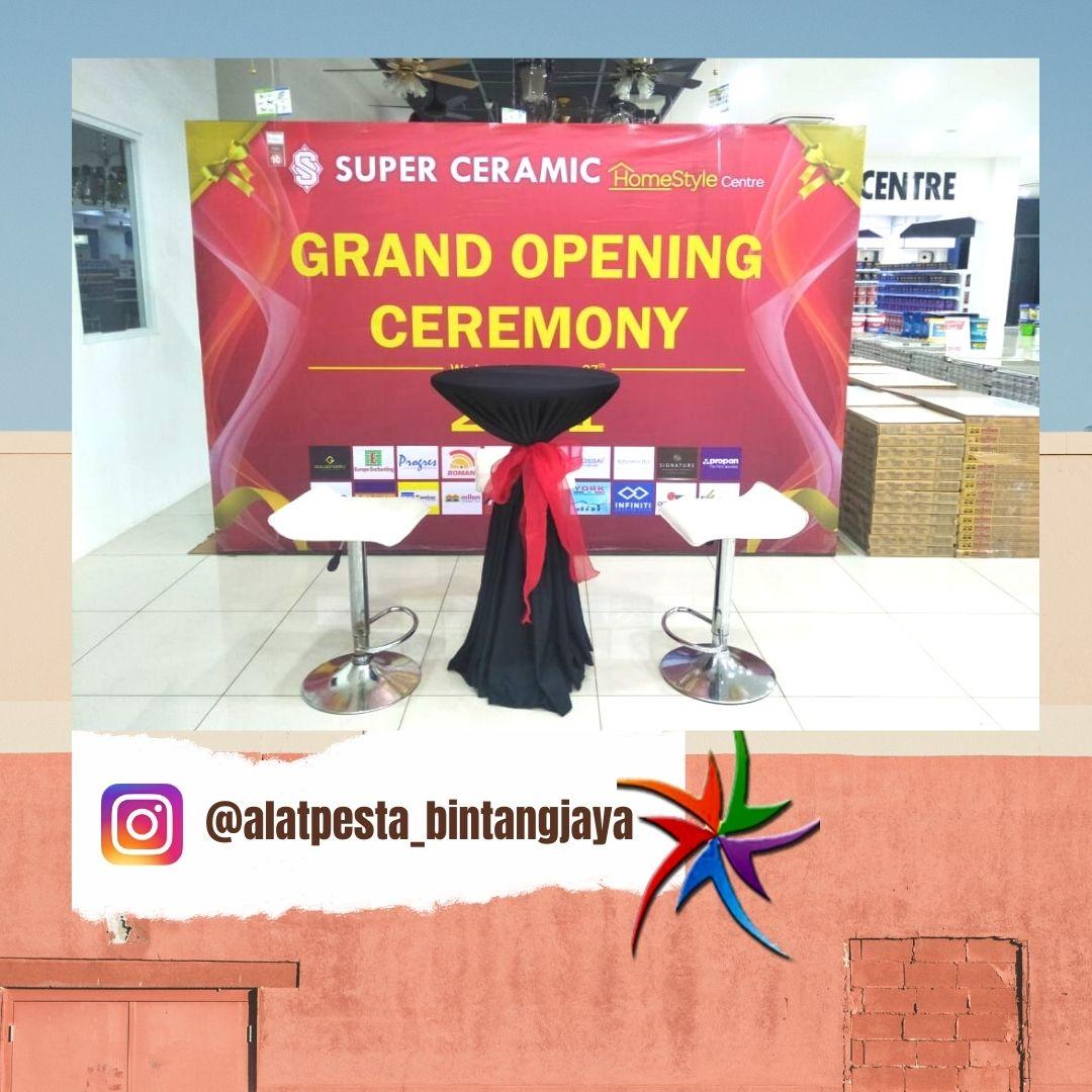 Sewa Meja Barstool Promo Free Ongkir Event Pekayon