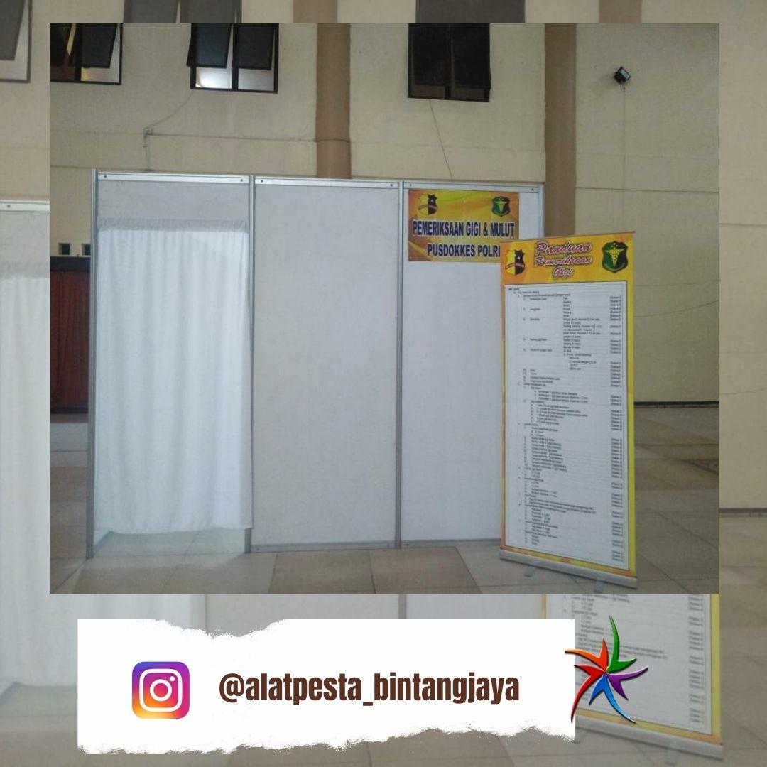 Sewa Partisi R8 Event Telkom LandMark Tower Jakarta Selatan