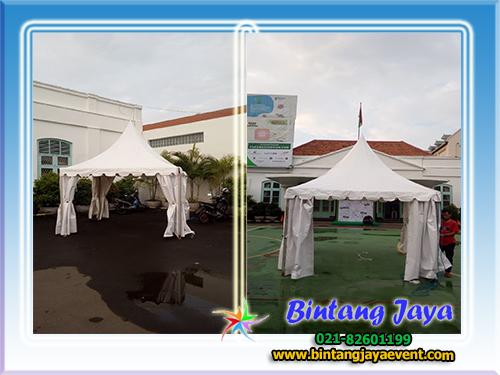 Sewa Tenda Kerucut SD Santa Ursula Jakarta