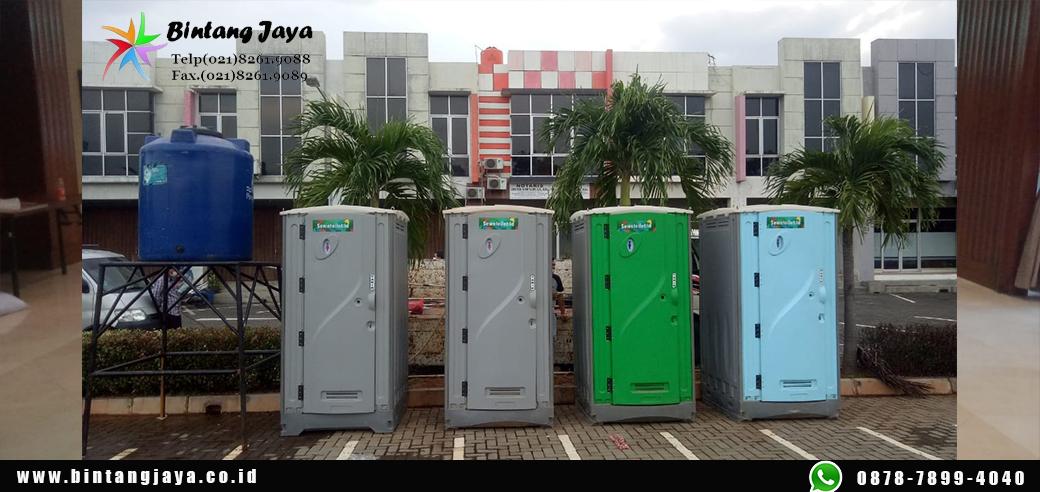 Sewa Toilet Portable Paket Bulanan Ekonomis